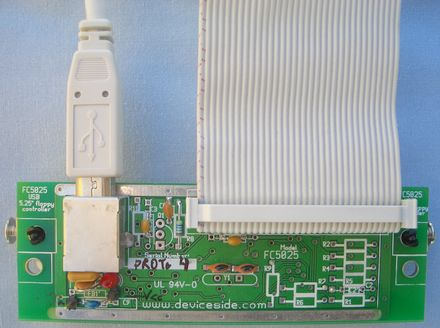 Fc5025 Usb 5 25 Quot Floppy Controller Shop Deviceside Com